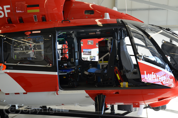 1st Delivery EC 145 Seitlich